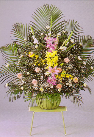供花:ダルマ篭1本